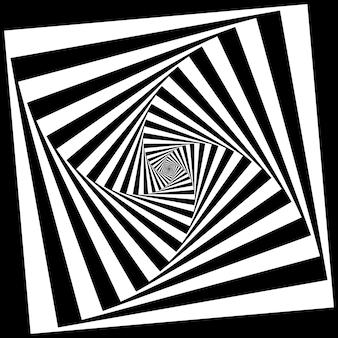 Fondo de vector con geometría abstracta