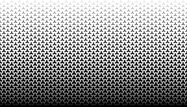 Fondo de vector geométrico transparente