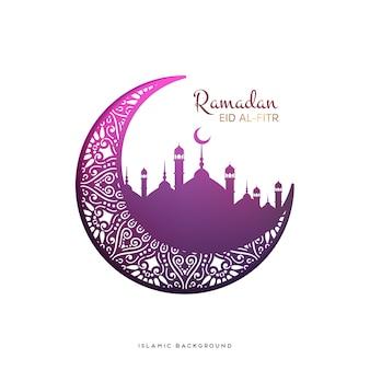Fondo de vector de ramadán