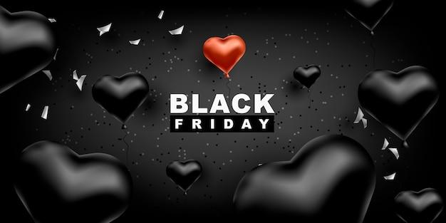 Fondo de vector de viernes negro