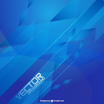 Fondo vectorial azul moderno