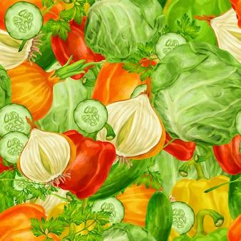 Fondo de vegetales
