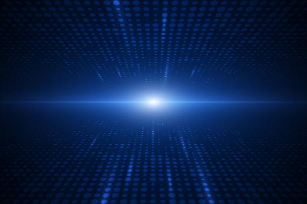 Fondo de velocidad de tecnología abstracta