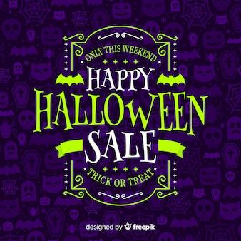 Fondo de venta de halloween