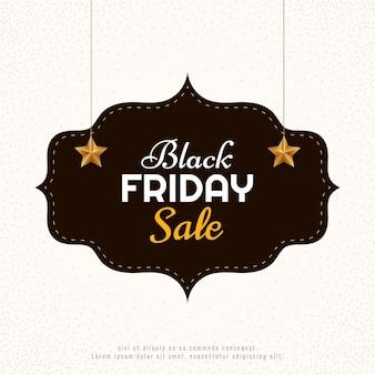 Fondo de venta de viernes negro elegante simple