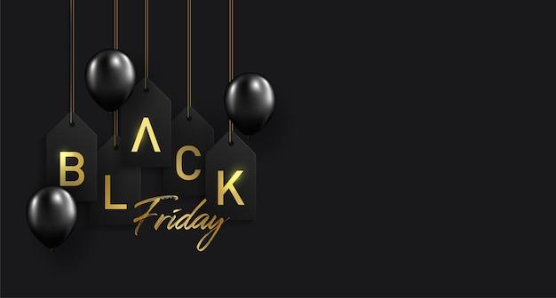 Fondo de venta de viernes negro.