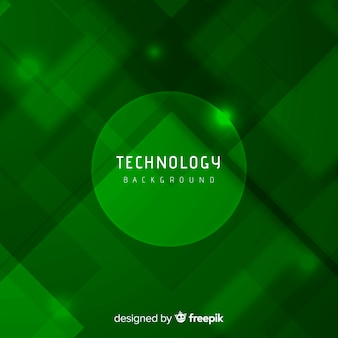 Fondo verde abstracto con estilo moderno