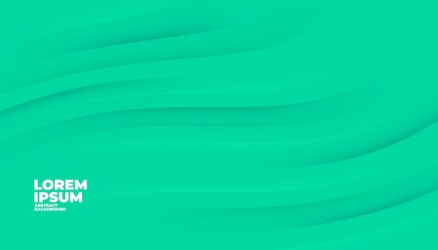Fondo verde abstracto. fondo verde de formas modernas para la plantilla de banner.