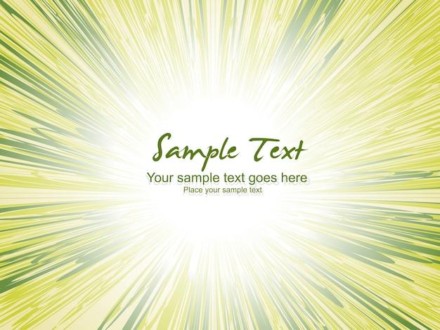 Fondo verde brilloso con espacio para texto
