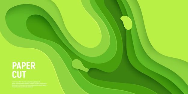 El fondo verde del extracto del limo agita capas.