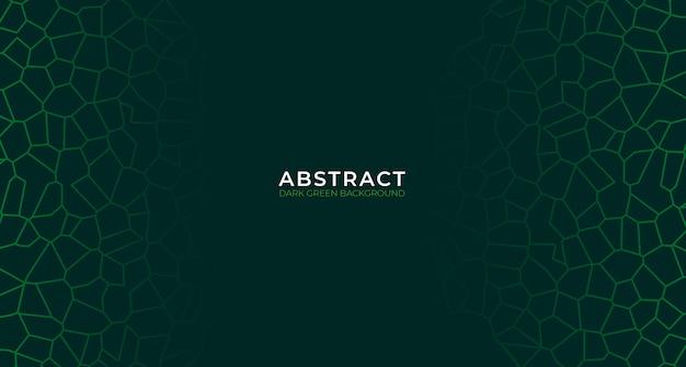 Fondo verde oscuro abstracto moderno