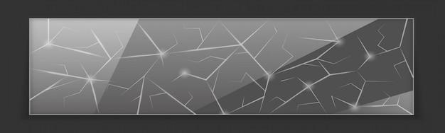 Fondo de vidrio roto roto abstracto