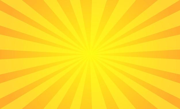 Fondo vintage amarillo abstracto
