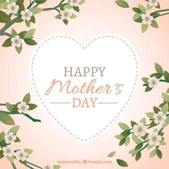 Fondode flores del día de la madre