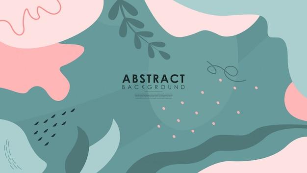 Fondos abstractos de varias formas lindas