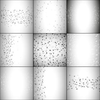 Fondos de estructura de la molécula
