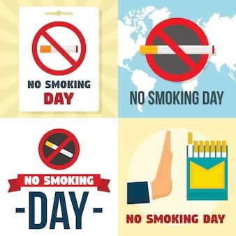 Fondos de no fumar día