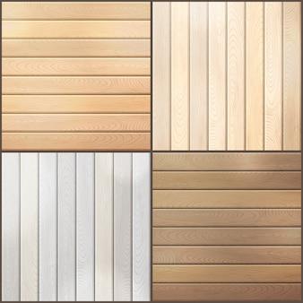 Fondos de tablones de madera