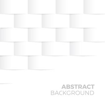 Forma abstracta blanca y fondo con textura