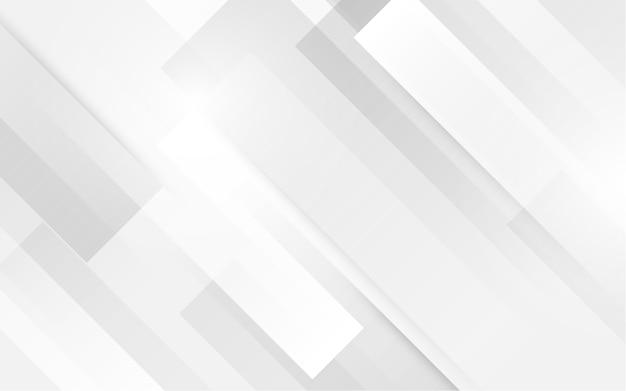Forma de cuadrado blanco con fondo futurista concepto