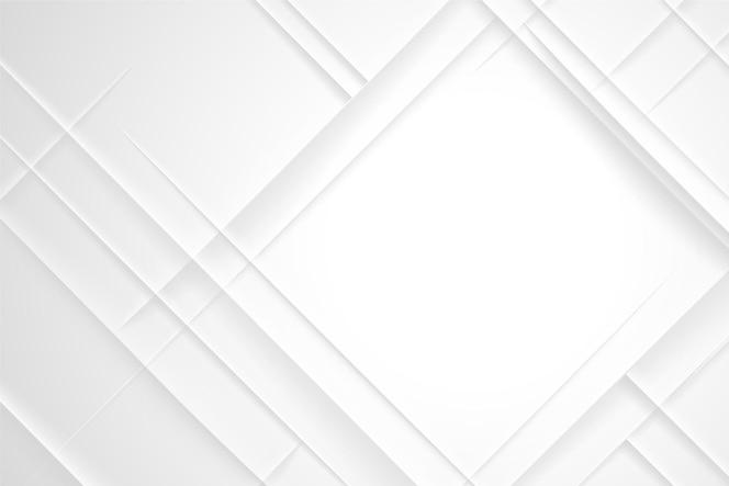 Forma de diamante fondo abstracto blanco