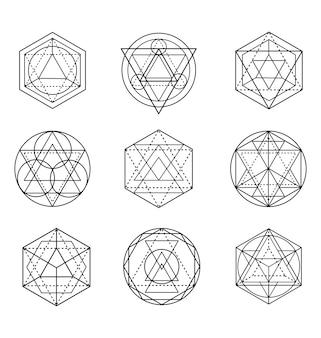 Forma de geometría sagrada