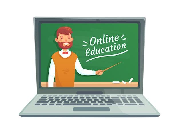Formación docente en línea