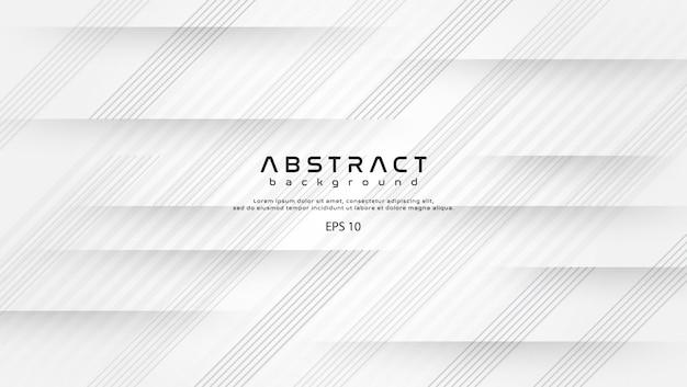 Formas abstractas de fondo blanco