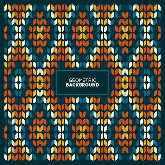 Formas de diamante pixel art fondo geométrico abstracto