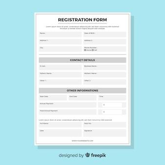Formulario registro