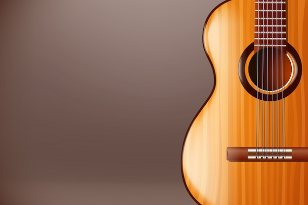 Foto de guitarra