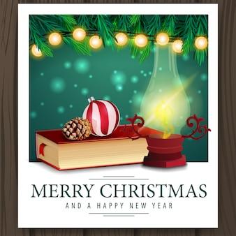 Foto con libros de navidad.