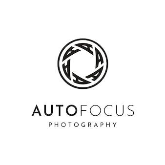 Fotógrafo diseño de logotipo