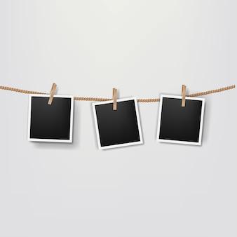 Fotos en la cuerda