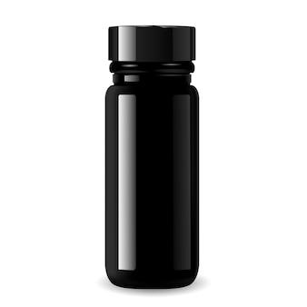 Frasco de farmacia para productos médicos.