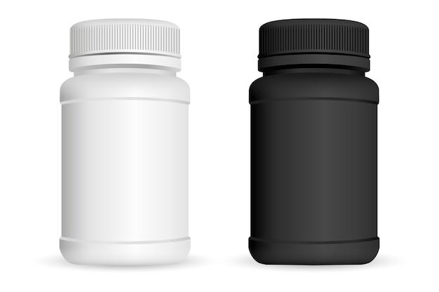 Frascos de pastillas