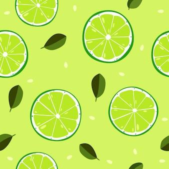 Fruta sin patrón lindo