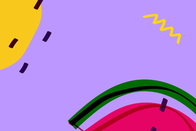 Fruta de sandía en un recurso de diseño de fondo púrpura