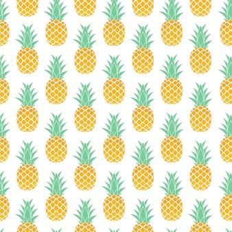 Fruta tropical piña sin fisuras de fondo.
