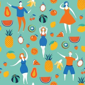 Fruta vitamina verde