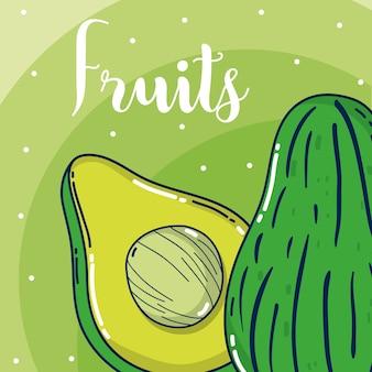 Frutas de aguacate