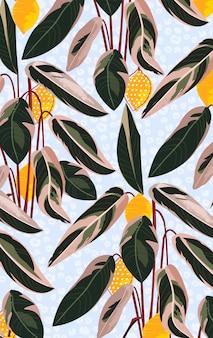 Frutas de limón
