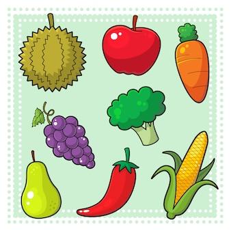 Frutas y verduras 01