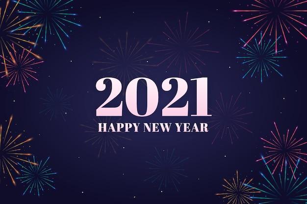 Fuegos artificiales nueva lágrima 2021