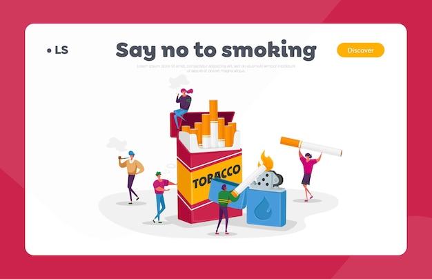 Fumadores y adicción al tabaco