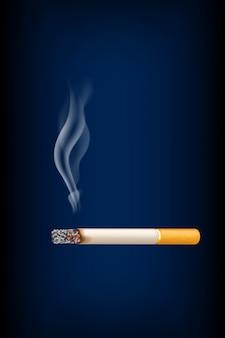 Fumando cigarrillos