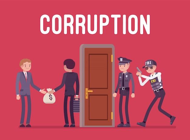 Funcionarios arrestados en caso de corrupción