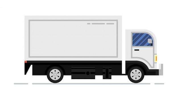 Furgoneta de carga comercial