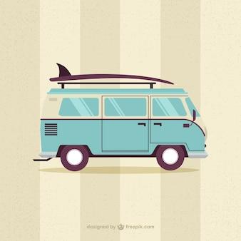 Furgoneta surfera