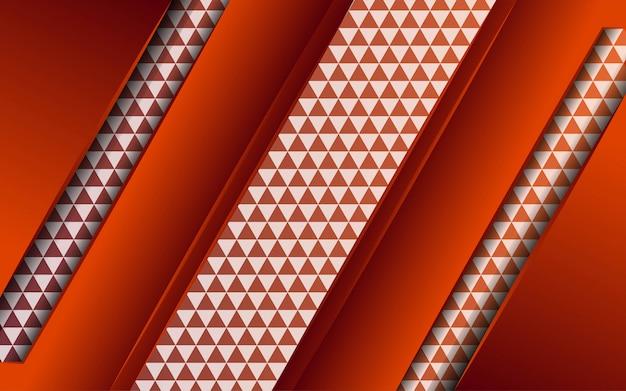 Futuro abstracto moderno con línea en textura de triángulo.